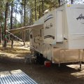 5th wheel Big Pine Campground