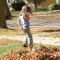 Steph in Leaves 119